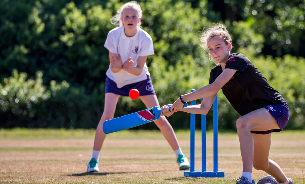 Cricket at Queenswood School